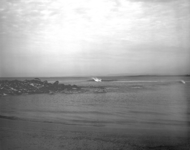 Bherwerre beach converted to b+w with blue filter